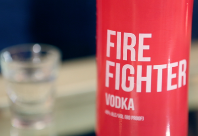 Fire Fighter Vodka