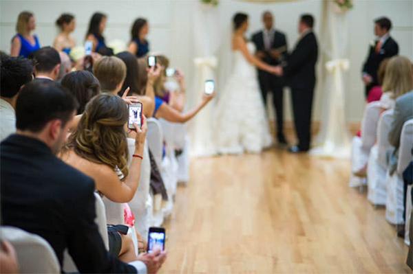 iphone wedding video ceremony